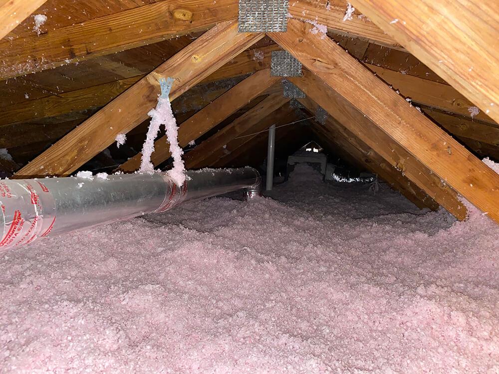 spray foam attic Johns Island