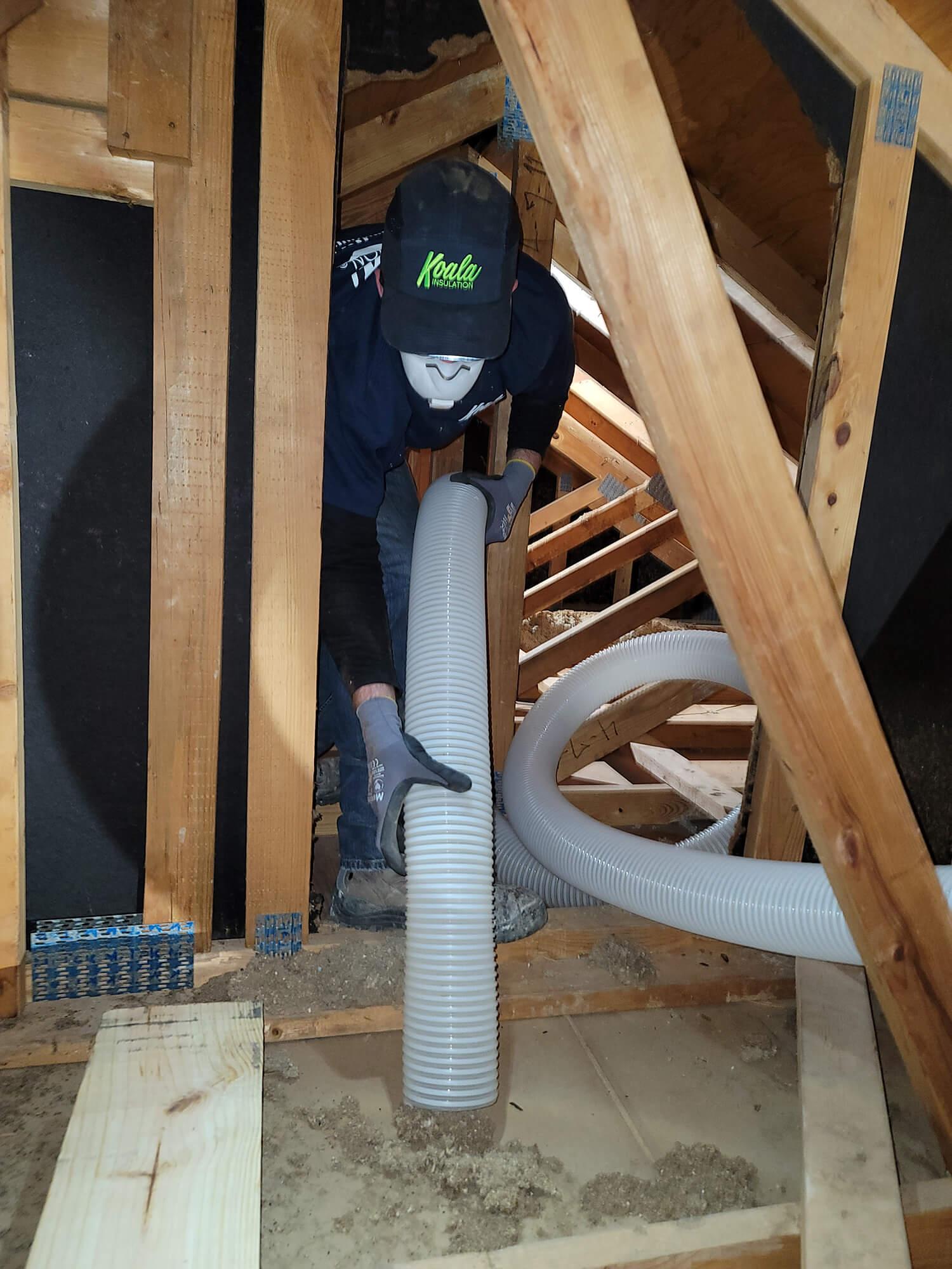 attic insulation removal Charleston