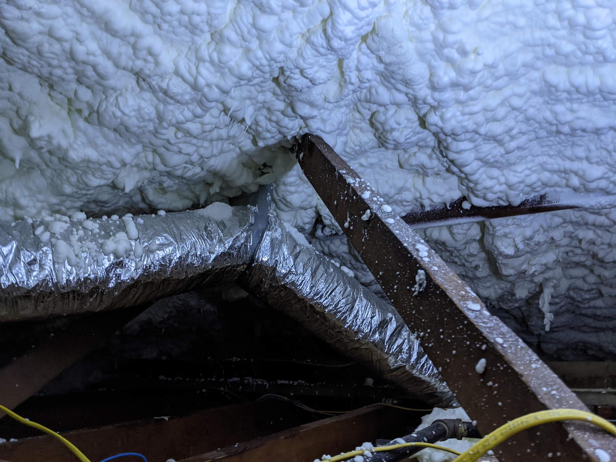 Johns Island attic insulation
