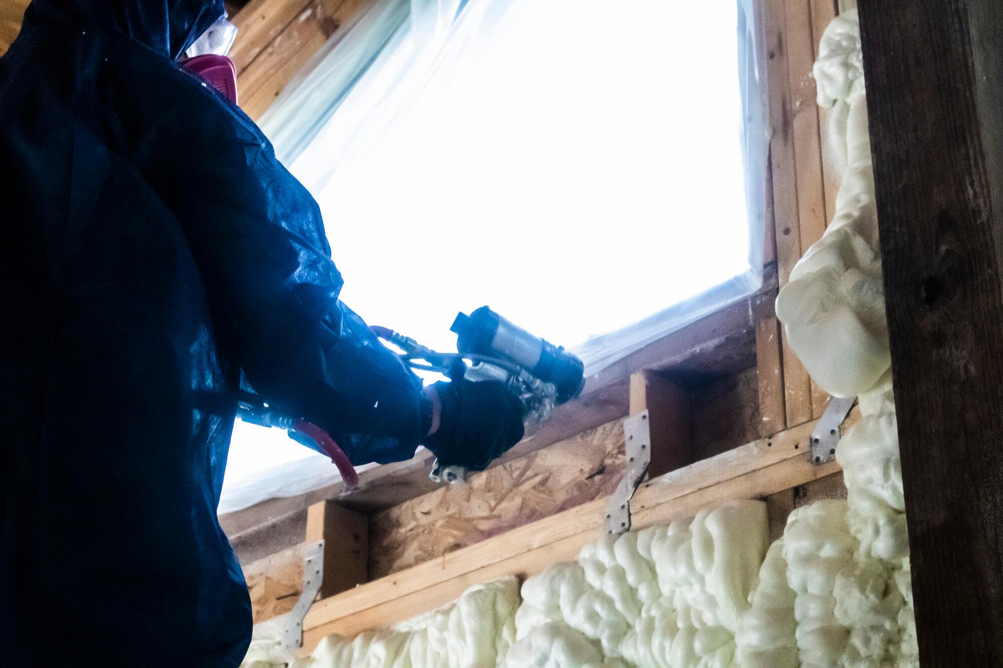 Wadmalaw Island home insulation