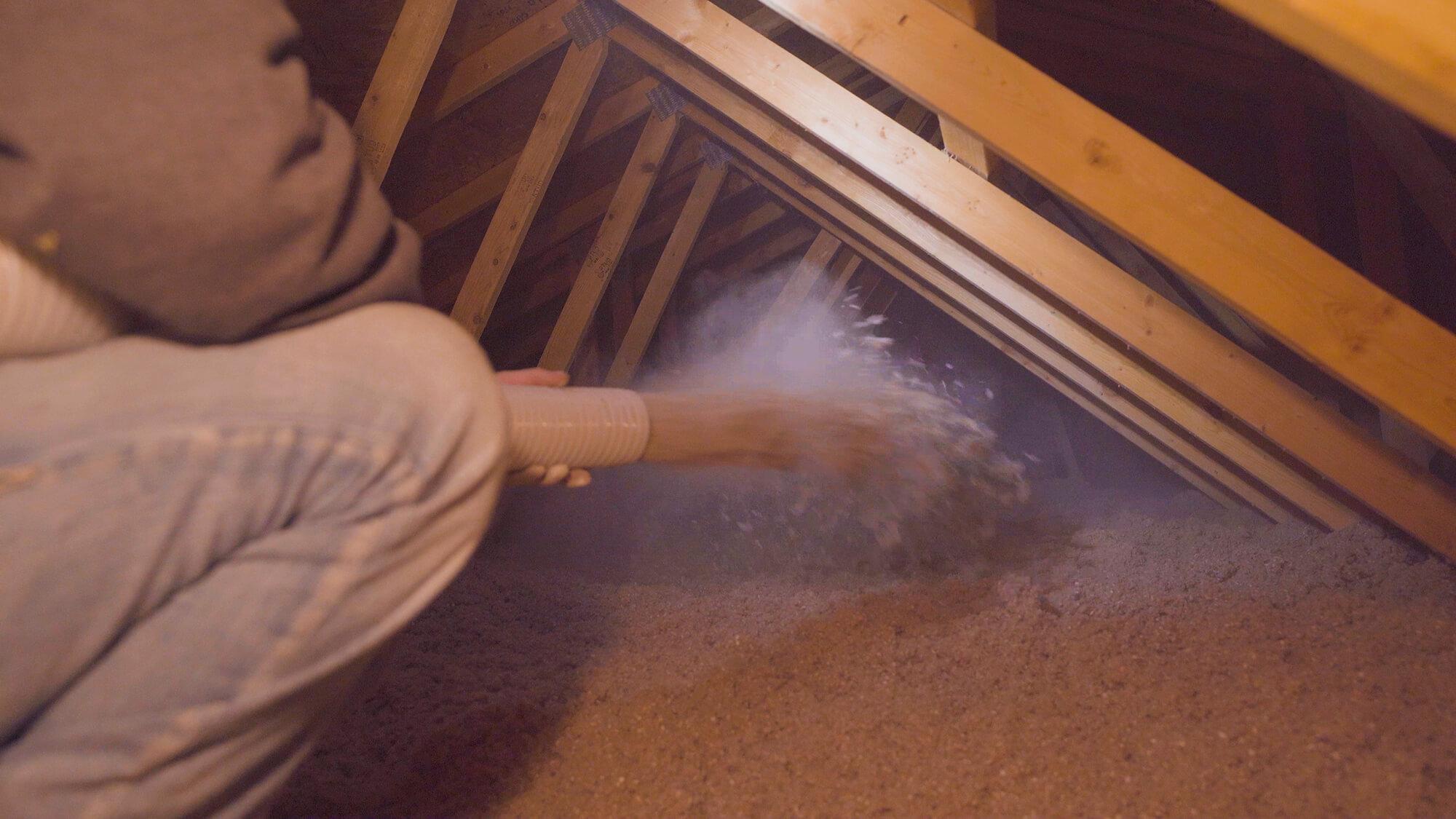 air sealing attic Monroe