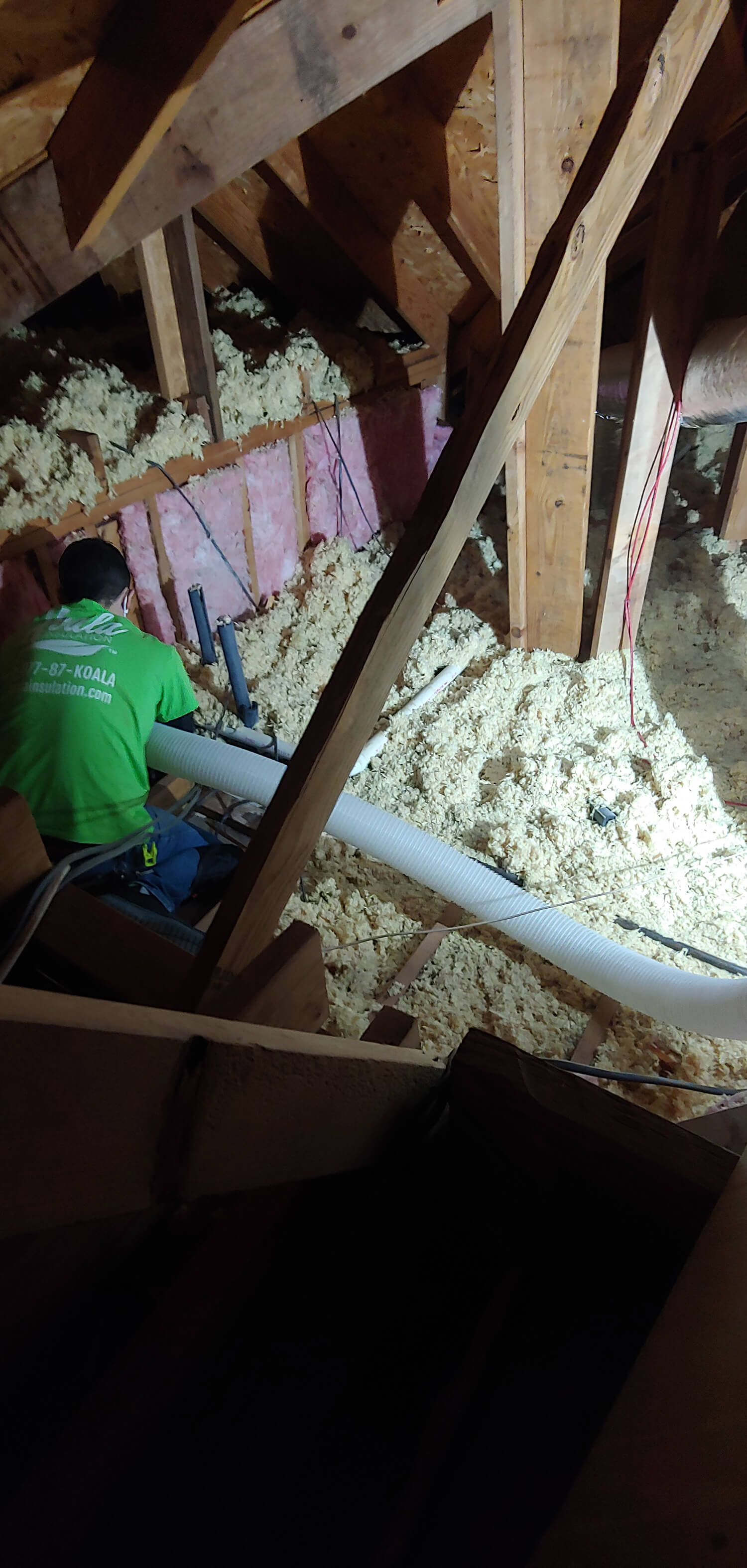 Fayetteville attic insulation removal